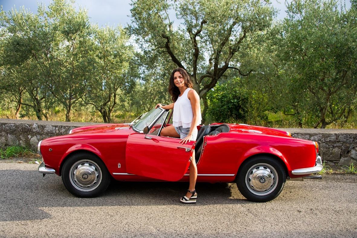 Alfa Romeo Giulia 1 6 Spider 1962 Car Hire Amalfi Coast Car Rental Sorrento Spider Life Style Italy