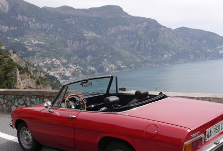 Convertible Car Hire In Sorrento Italy